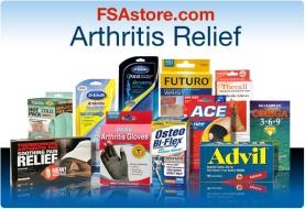 fsa eligible arthritis relief